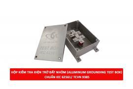 Hộp kiểm tra điện trở Inox 304 (Stainless steel SUS304 grounding test box) đạt chuẩn IEC 62561